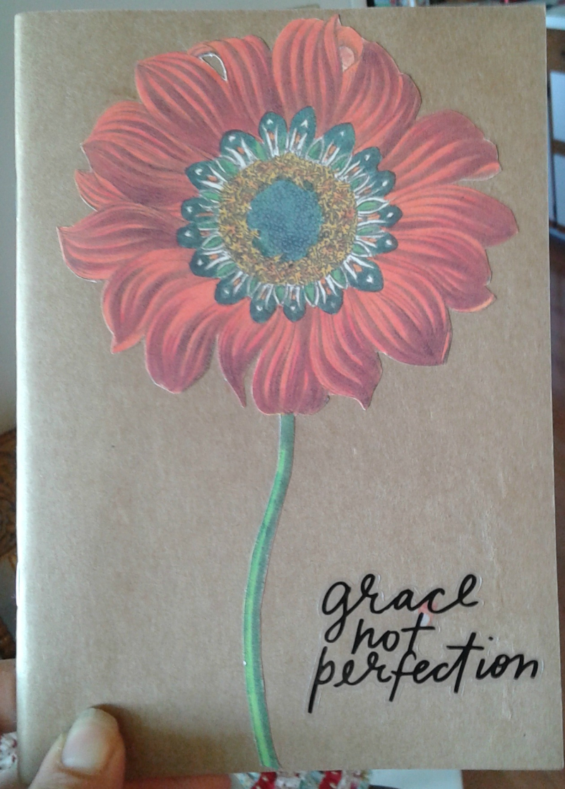 Bible journal red